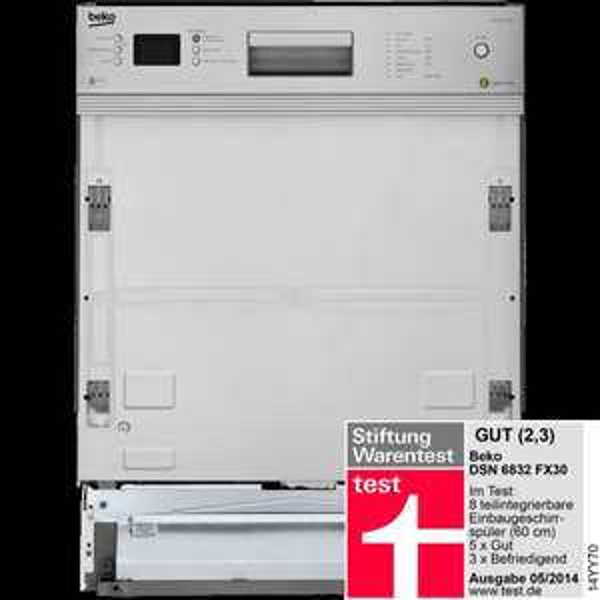 Beko DSN 6832 FX30 Geschirrspühlmaschine