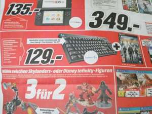 [Media Markt Erlangen] Logitech G810 Orion Spectrum QWERTZ inkl. The Division Downloadcode