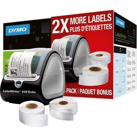 """Dymo Etikettendrucker """"LabelWriter 450 Turbo"""" (ValuePack) für 87,85 abzgl. 82,90 Cashback (oder nur 41,45)??"""