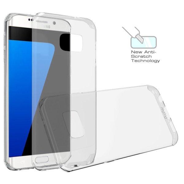 [Amazon - Prime] S7 Edge Hülle, Profer TPU Schutzhülle Tasche Case Cover Ultradünn Kratzfest Weich Flexibel Silikon Bumper für Samsung Galaxy S7 Edge (TPU durchsichtig) für 3,49 Euro