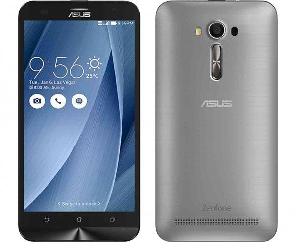 >> UPDATE!  ASUS ZenFone 2 Laser (ZE601KL) Dual LTE-SIM ( 6,0'' Full HD Gorilla Glas4, Snapdragon 8 Core 1,7GHz 3GB RAM, 32GB intern erweiterbar, 13 MP Laser AF Cam, SM.Stereo, Akku aust.bar, And 5.0 >> 6.0 , silber) für 297 €  [amazon.es]