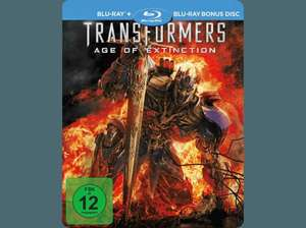 [Saturn Super Sunday] Transformers 4 (Exklusive Steel Edition) - (Blu-ray) für 8,99€