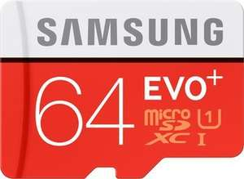[Saturn Super Sunday] Samsung 64GB EVO+ microSD Speicherkarte 80MB/s [+SD-Adapter] für 18,99€ Versandkostenfrei oder 2 Stück für 32,98€ mit Newslettergutschein