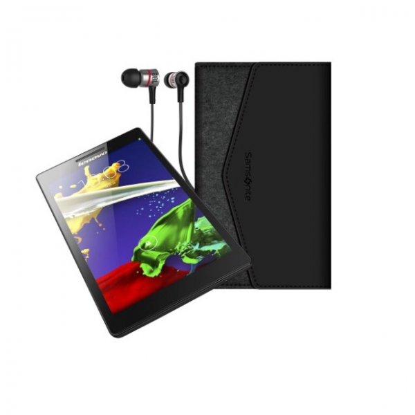 [Amazon] Angebot des Tages Lenovo TAB 2 A7-10 17,8 cm (7 Zoll IPS) Tablet Bundle mit Tasche und JBL Kopfhörer
