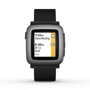 [Amazon WHD] Pebble Time (black) nur 123,11 EUR
