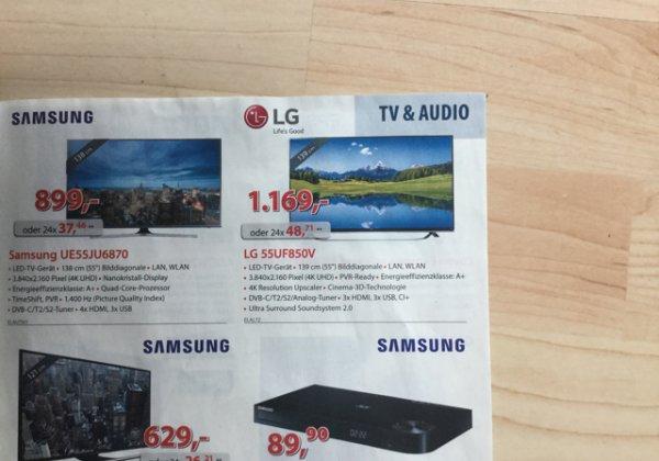 LG 55 Uf 850 V