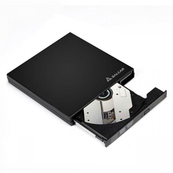 Salcar – externer CD/DVD RW Brenner/Laufwerk (USB 2.0) für 18,69€