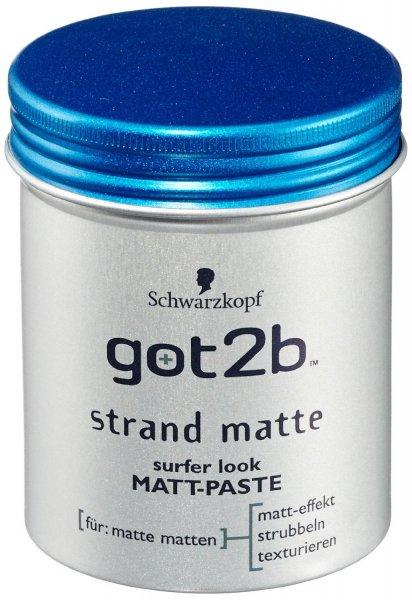 Amazon: got2b Strand Matte Matt-Paste, 6er Pack