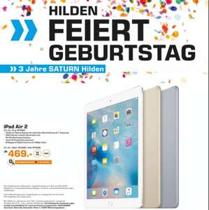[Lokal Saturn Hilden] iPad Air 2 WiFi 64GB für 469€