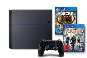 [Amazon Tagesangebot] PS4 Bundle 500 GB, schwarz [CUH-1216A] + Tom Clancy's The Division + Far Cry Primal (100% Uncut) - Special Edition