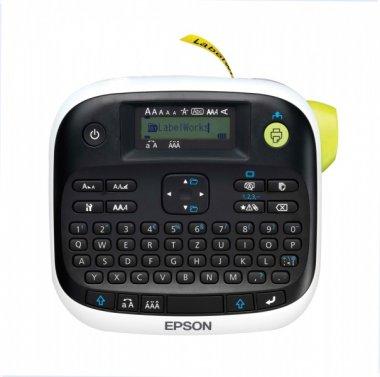 [Office-Partner] Epson LabelWorks LW-300L Etikettendrucker (bis 12mm Breite, QWERTZ-Tastatur) für 11,90€ versandkostenfrei
