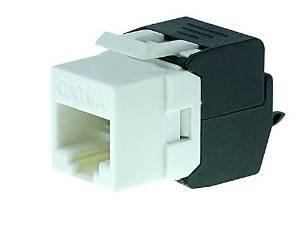 [Amazon Prime] RJ 45 Keystone Modul Jack Cat.6a 500 Mhz 10Gbit 8p8c UTP 3€ mit Gutschein