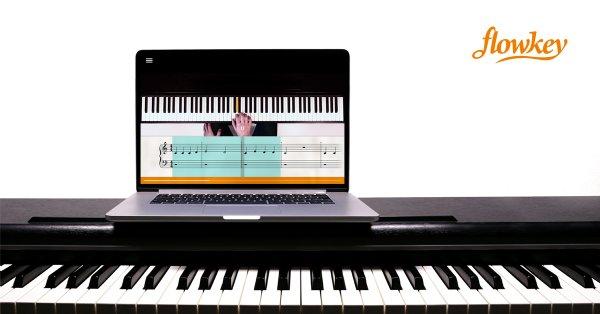 30% Rabatt auf flowkey Premium (Klavier/Keyboard spielen lernen)
