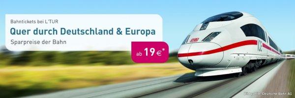 Quer durch Deutschland ab 19€