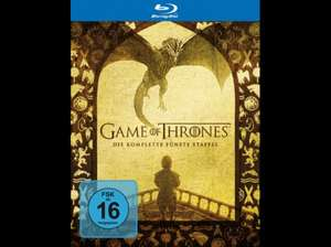 Game of Thrones - Staffel 5 (Blu-Ray) 27,99€ @Saturn (29,98€ bei Versand)