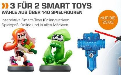 [Saturn.de] 3 für 2 Smart Toys (Amiibo, Skylanders, Disney Infinity) ab 6,66€/Amiibo