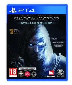 [base.com] Mittelerde: Mordors Schatten - Game Of The Year Edition [PS4] für 21,93€ inkl. Versand