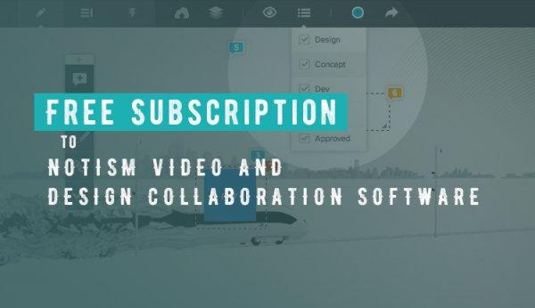 2 Monate kostenlos :: Notism - Professional Visual Design Collaboration tool