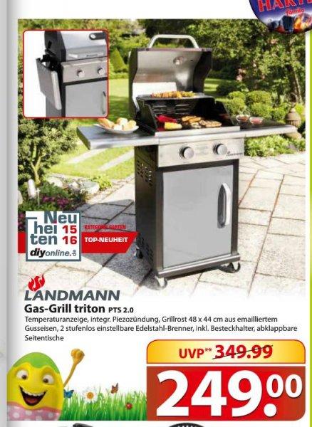 Gasgrill Landmann Triton PTS 2.0 silver 12901