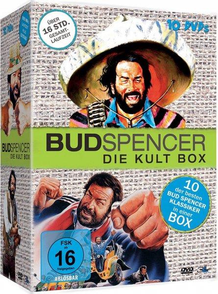 [Mediadealer] Bud Spencer - Die Kult Box [10 DVDs]