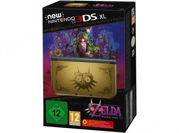 [mediamarkt.de] New Nintendo 3DS XL: The Legend of Zelda: Majora's Mask - Limited Edition oder Monster Hunter 4 Ultimate Edition ab 247€ [nur für Sammler interessant]