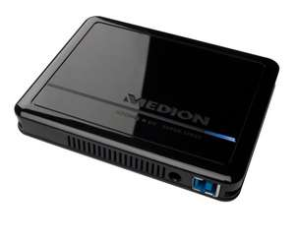 """ebay MEDION P82755 externe Festplatte HDDrive-n-go 2,5""""/6,35cm 1000GB 1TB USB 3.0 BWARE"""