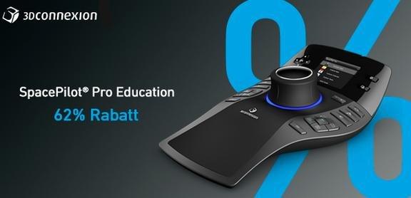 3Dconnexion SpacePilot® Pro Mouse für 179€ im 3Dconnexion Education Store