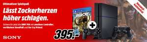 Playstation 4 - 1 TB Version + Far Cry Primal + zweiter Controller + Standfuß