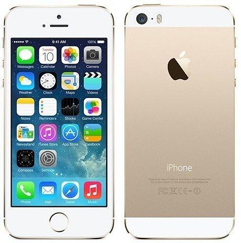 Iphone 5s 64GB Gold Refurbished vom Hersteller [goforshopnow]