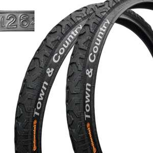 """2x Continental Town&Country + 2x Continental 26"""" MTB Schlauch: 31,75€"""