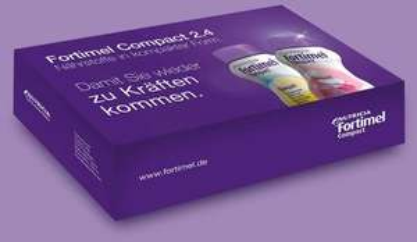 2 Flaschen Fortimel Compact Nährstoffe gratis anfordern. Nahrungsergänzung.