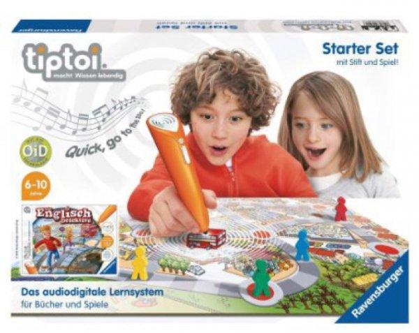 """[Toys R Us] Ravensburger tiptoi Starter-Set mit Stift und Lernspiel """"Die Englisch-Detektive"""" für 29,98€ (bei Filialabholung) statt 41,94€ [plus tiptoi 3für2 Aktion]"""