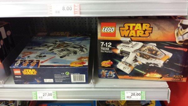 [Bremen] Rossmann@HBF: Lego Snowspeeder 75049 / Phantom 75048