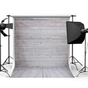 [Amazon - Prime]  Mohoo 5x7ft Photography Background Photo Backdrops Vinyl White Wood Floor Props for Studio  für 1,16 Euro inkl. Versand