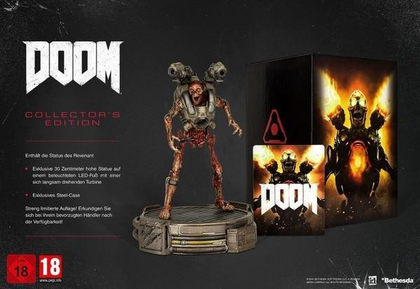 [thalia.de] Doom (4) - Collector's Edition [PS4] für 118,99€ inkl. Versand [Vorbestellung]
