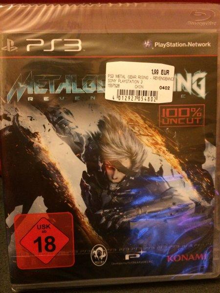 [Saturn Witten] [PS3] Metal Gear Rising Revengeance für knapp 2 Euro