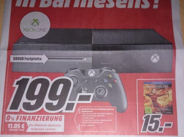 [MM Pirmasens &  Homburg/Saar] Xbox One 500GB Refurbished