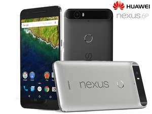 [iBood] Huawei Nexus 6P 32 GB, 5,7'' QHD Amoled, Snapdragon 810 Quadcore, 3GB RAM, 8MP + 12,3MP, Aluminium-Gehäuse, USB Type-C, 3450 mAh, Android 6