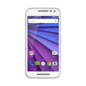 "[Amazon.fr] Motorola Moto G 3 LTE (5"" HD IPS, Snapdragon 410 Quadcore 1,4 GHz, 2GB Ram, 16GB intern, 13MP + 5MP Kamera, IPX7, 2470 mAh, Android 6) für 174,10€"