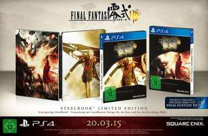 [amazon] Final Fantasy Type-0 HD - Steelbook Edition (PS4 / Xbox One) für 19,97€