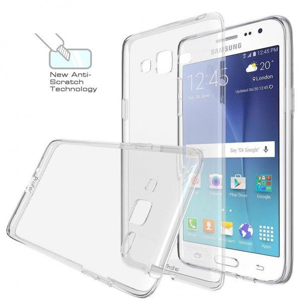 [Amazon - Prime] Samsung Galaxy J1 oder J2 , Profer TPU Schutzhülle Tasche Case Cover Ultradünn Kratzfest Weich Flexibel Silikon Bumper für 3,20 Euro