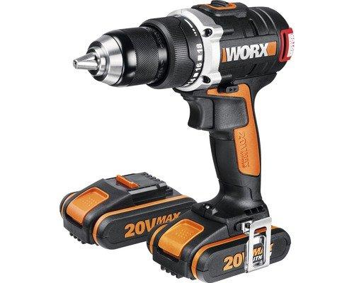 [Hornbach] 120€ Akku-Bohrschrauber Worx 20 V Li (2 Ah) WX 175 mit 2 Akku inkl. Bit [IDEALO:180€]]