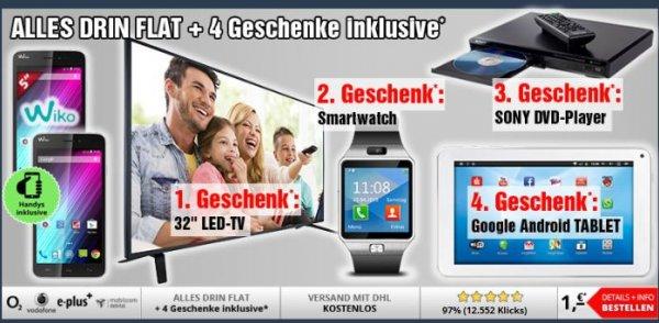 Oster Entertainment Angebot von Handy Service inkl. viel Hardware für effektive 2,53€ im monat