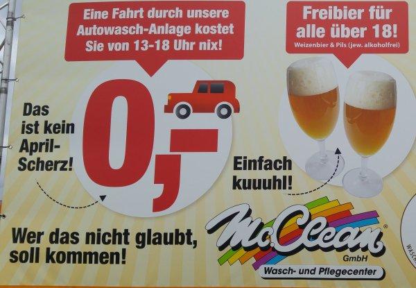 [lokal Göttingen] Gratis Autowäsche & alkoholfreies Bier am 03.04.16 von 13-18 Uhr (Lutteranger)