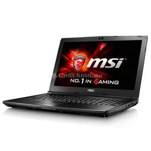 [Comtech] 15% Rabatt auf alle MSI-Notebooks - z.B. MSI GL62 6QF (15,6'' FHD IPS matt, i7-6700HQ, 8GB DDR4, 1TB HDD [M.2 frei], Geforce GTX 960M, USB Typ-C, Wlan ac + Gb LAN, FreeDOS) für 806,65€