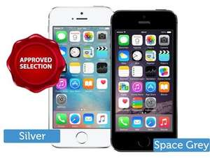 [IBOOD] APPLE iPhone 5 & 5S refurbished in 16GB, 32GB und 64GB schwarz & weiß Approved Selection Grade A