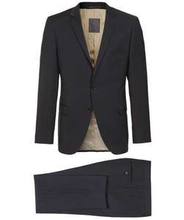 [Engelhorn] S.Oliver Premium Anzug SlimFit Schwarz Obermaterial 100% Wolle 99,90