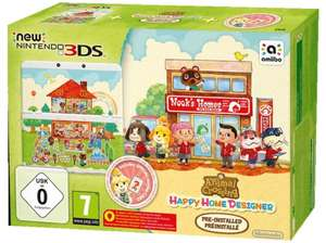 NINTENDO New Nintendo 3DS + Animal Crossing: Happy Home Designer Pack für 134 € @ Saturn Latenight Shopping