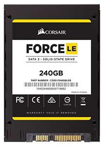 Corsair Force LE Series SSD 240GB TLC ab 49,89 € bei Cyberport (Vorbestellung!)