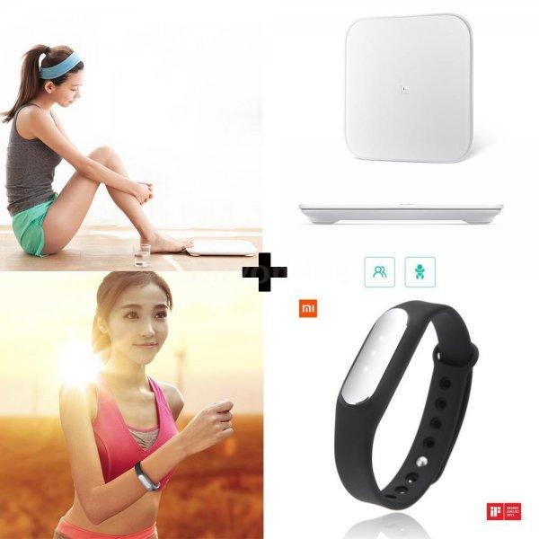 Xiaomi Smart Körperwaage und Mi Armband